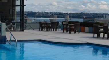 Tiles supplied by Heritage Tiles Commercial Division:900x600x20mm structural leisure, ocean, sea, sky, swimming pool, water, teal