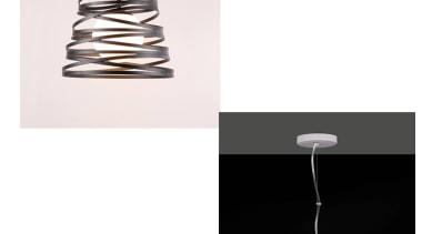Leysin by Geneva ceiling fixture, lamp, light fixture, lighting, lighting accessory, product, product design, table, white