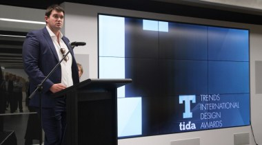 John Love from Tawera Group communication device, display device, electronic device, multimedia, presentation, projector, public speaking, technology, black