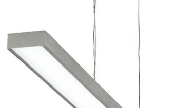 FeaturesSleek and modern in its design, the Tida angle, ceiling fixture, light fixture, lighting, product design, white