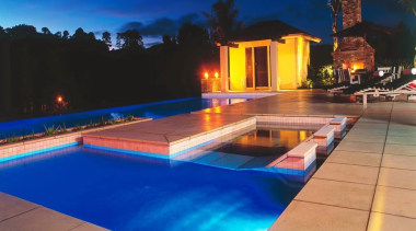 Residential estate, leisure, leisure centre, lighting, property, real estate, resort, swimming pool, blue