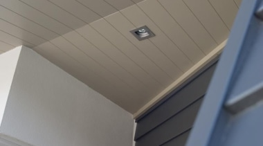 HardieGroove Soffit Lining angle, architecture, ceiling, daylighting, line, product design, roof, gray