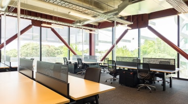 Mohawk Group carpet tiles were the green, durable architecture, furniture, office, white