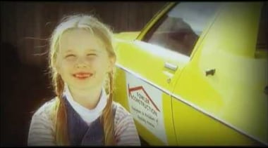 Fowler Homes NZ - Over 31 years building blond, car, child, cool, fun, girl, human hair color, mouth, person, smile, snapshot, yellow, black