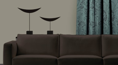 Resene Labyrinth Bud Room angle, chair, coffee table, couch, furniture, interior design, living room, sofa bed, table, wall, gray, black