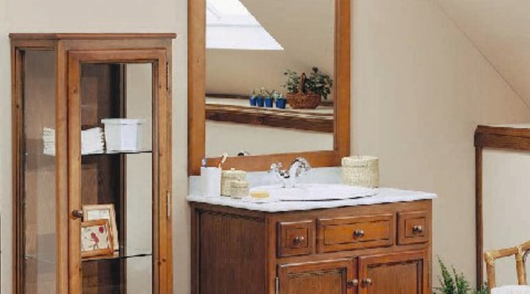 View of this bathroom's cabinetry bathroom, bathroom accessory, bathroom cabinet, cabinetry, chest of drawers, furniture, product, room, gray, brown