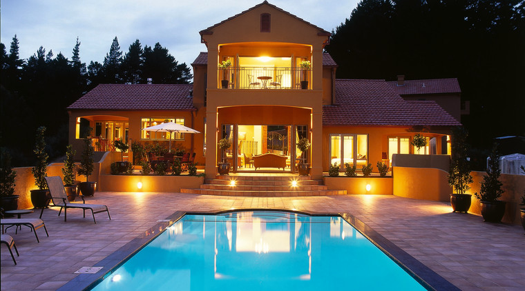 ourdooe living space estate, home, house, leisure, lighting, property, real estate, resort, swimming pool, villa