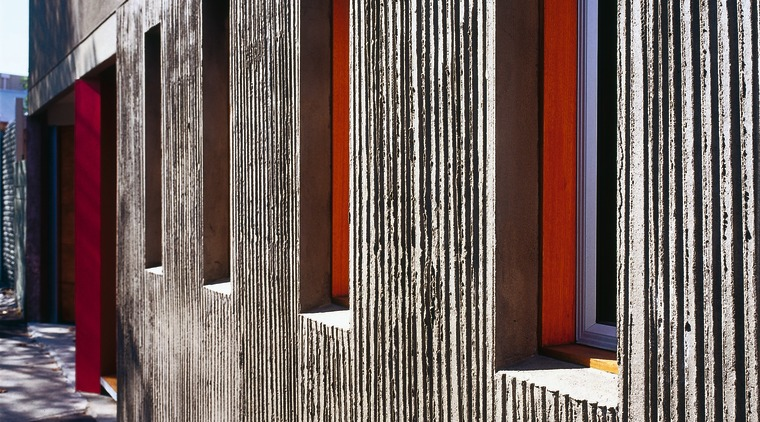 The view of the side of a home architecture, building, door, facade, house, siding, structure, wall, window, wood, black, white