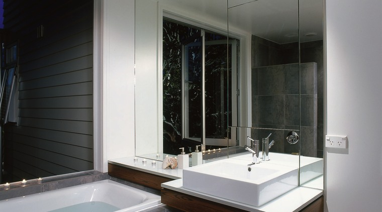 The view of a bathroom featuring a bath architecture, bathroom, glass, interior design, room, window, gray, black