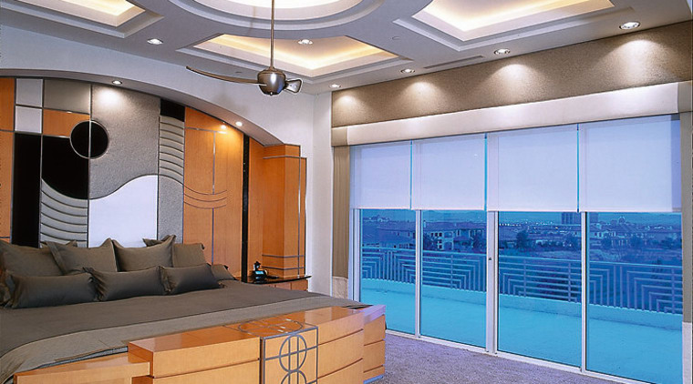 View of the master bedroom ceiling, daylighting, interior design, real estate, wall, gray