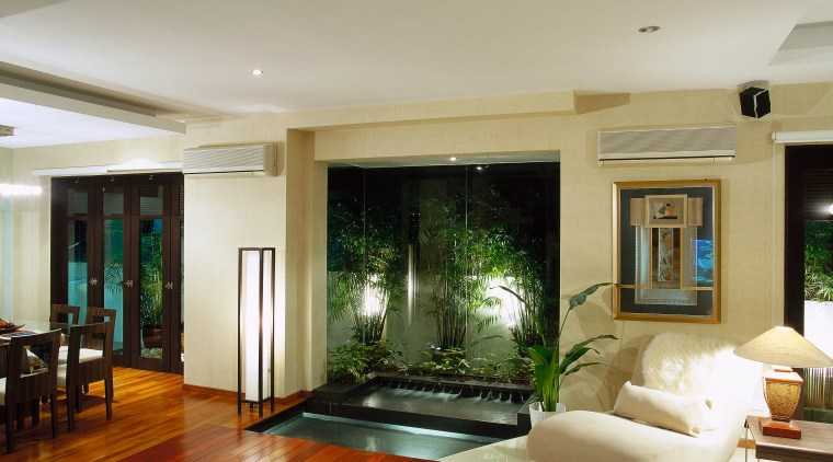 Renovated home with a feel of a tropical ceiling, interior design, living room, property, real estate, room, window, gray