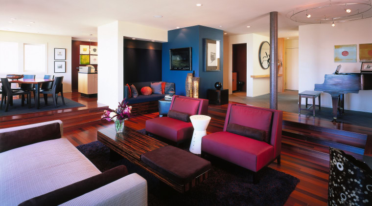 View of a lounge and living area. Features ceiling, interior design, living room, lobby, property, real estate, room, suite, gray, black