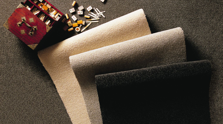View of these carpet rolls flooring, product design, black