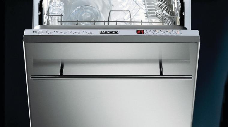 Baumatic fully integrated dishwasher. dishwasher, gas stove, home appliance, kitchen appliance, kitchen stove, major appliance, product, product design, black