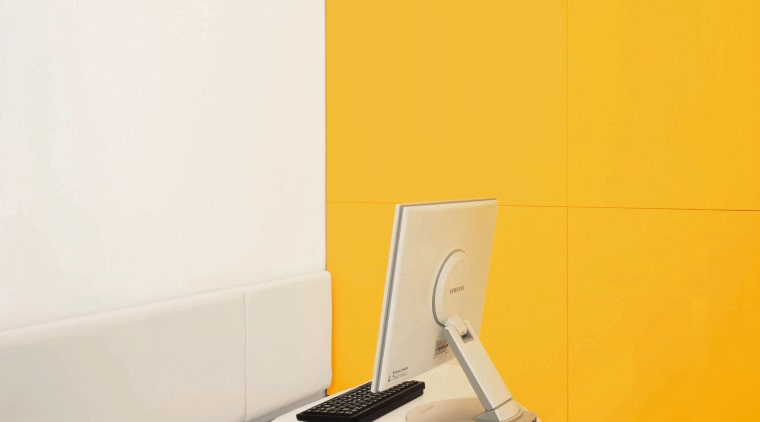 A close up of the silver table with angle, floor, furniture, plumbing fixture, product design, table, tap, yellow, white, orange