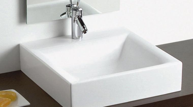 view of the bellavista swuare shaped aida bowl bathroom sink, ceramic, plumbing fixture, product design, sink, tap, white