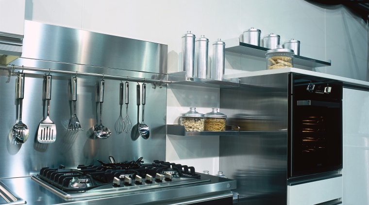 An example of Baumatic Appliances accessories and features. countertop, home appliance, kitchen, kitchen appliance, kitchen stove, small appliance, gray, black