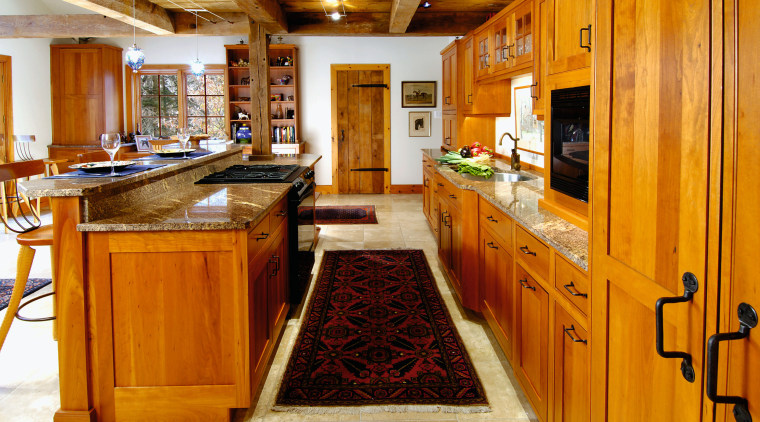 view of this kitchen designed by david stimmel cabinetry, countertop, cuisine classique, home, interior design, kitchen, real estate, room, wood, orange, brown