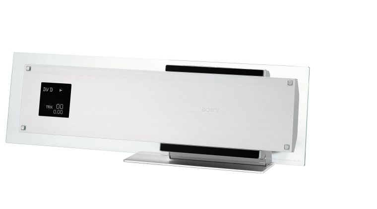 Home theatre control unit. electronics, product, product design, technology, white