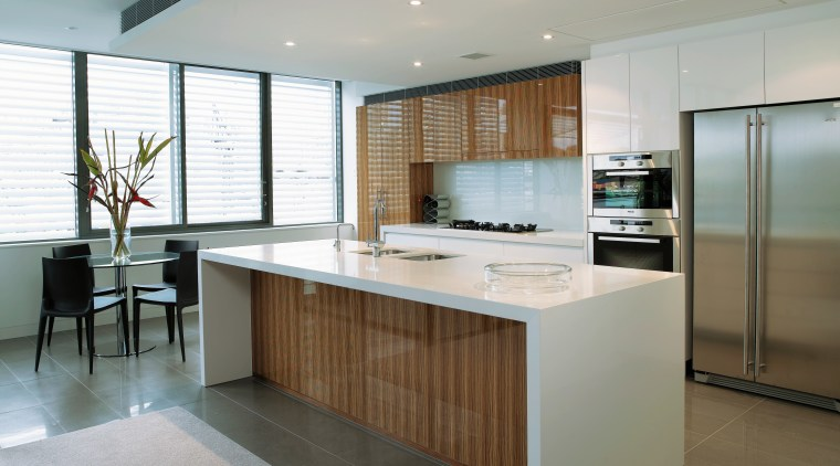 A view of some kitchen joinery by IJF cabinetry, countertop, floor, flooring, interior design, kitchen, real estate, gray