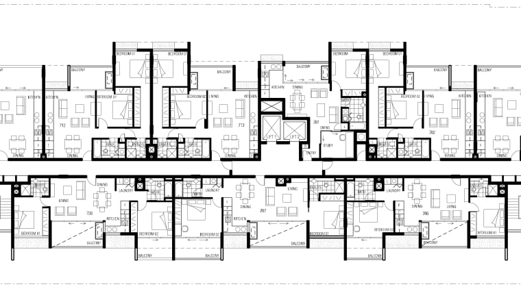 Floor plan of the apartment complex architecture, area, black and white, design, drawing, elevation, facade, floor plan, font, line, monochrome, plan, product design, residential area, structure, text, urban design, white