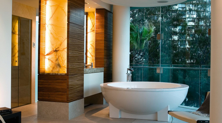 A view of this Customised Bathe spa bath architecture, bathroom, ceiling, estate, home, interior design, living room, room, gray