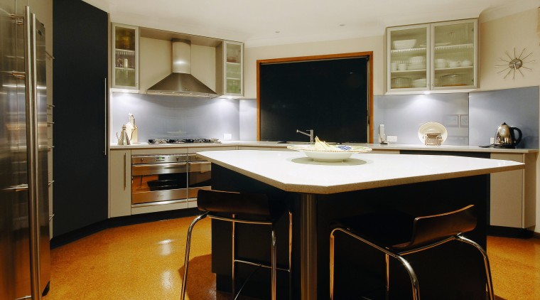 A view of a kitchen from Heathwoods Kitchen cabinetry, countertop, cuisine classique, interior design, kitchen, real estate, room, black