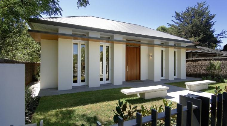 This 5000m2 exbibition home, the Palladium, was designed estate, facade, home, house, mansion, property, real estate, villa