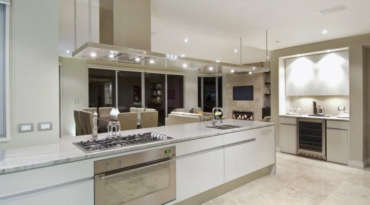 Resene Livid Brown and Resene Midwinter Mist feature cabinetry, countertop, cuisine classique, interior design, kitchen, real estate, room, gray
