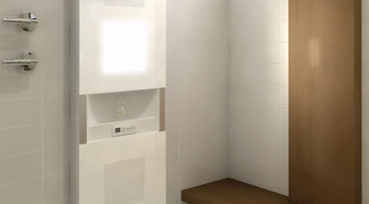 Image of a bathroom which features the new bathroom, bathroom accessory, floor, interior design, plumbing fixture, product design, room, sink, tap, white, gray