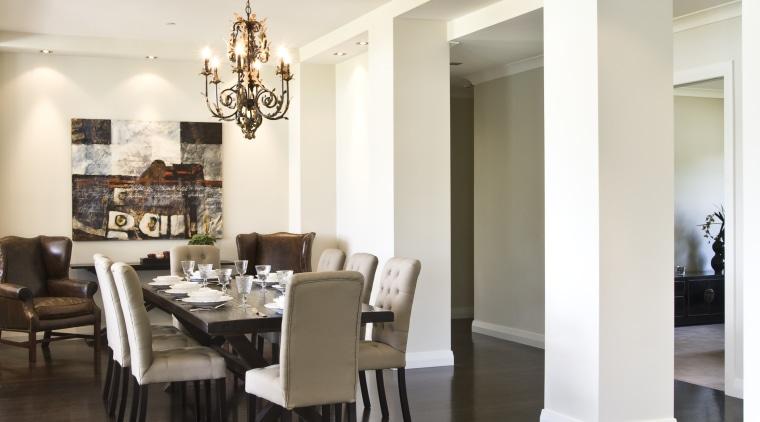 Image of wooden floors by Wood Floor Concepts. ceiling, dining room, floor, flooring, furniture, hardwood, interior design, laminate flooring, living room, real estate, room, table, wood, wood flooring, white