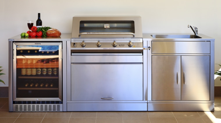 The Vintec 40BVC beverage center combines sleek good gas stove, home appliance, kitchen, kitchen appliance, kitchen stove, major appliance, microwave oven, oven, refrigerator, small appliance, stove, white