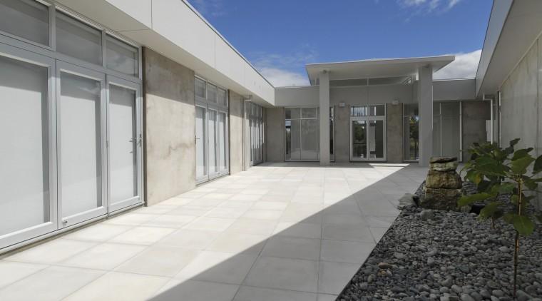 Resene Foggy Grey from the Karen Walker range architecture, building, estate, facade, home, house, property, real estate, window, gray