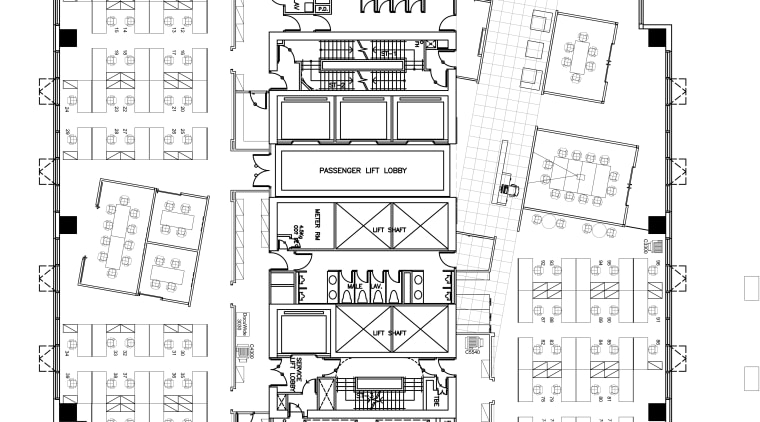 View of the architectural floor plans for the area, black and white, drawing, floor plan, line, plan, schematic, technical drawing, white