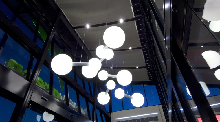 Fairview Green Shopping Centre, Fairview Park, WA architecture, light, lighting, technology, black