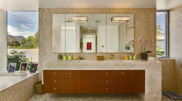 View of the bathroomcarrillo horizon 0910-98 v1 bathroom, cabinetry, countertop, home, interior design, kitchen, real estate, room, gray, brown