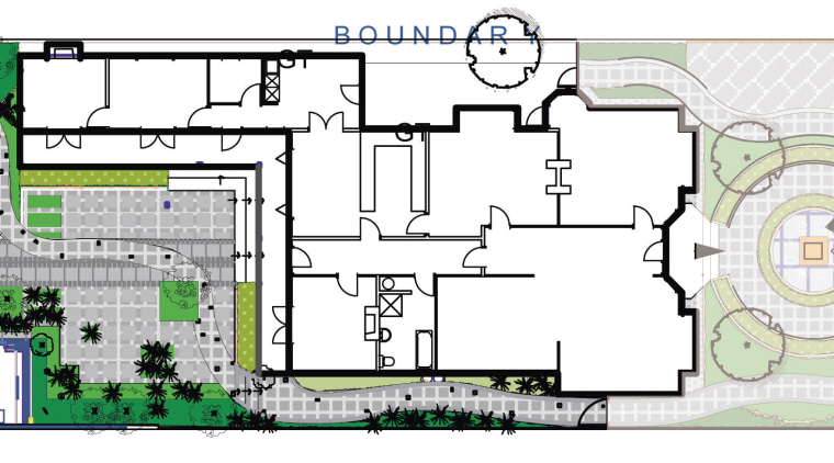 View of landscape architectural plans. architecture, area, design, floor plan, neighbourhood, plan, residential area, urban design, white