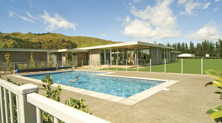 For this house, Warner Fencing & Gates Ltd estate, home, house, leisure, property, real estate, swimming pool, villa