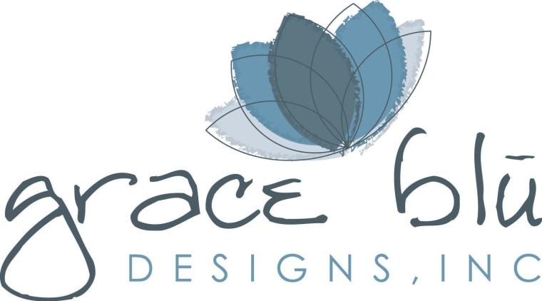 Grace Blu Designs Logo brand, font, graphics, logo, product, product design, text, white