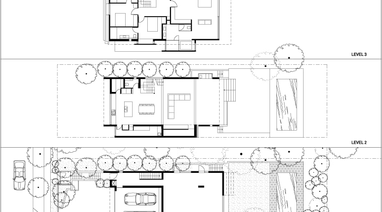 This home was designed by Angus Munro of architecture, area, black and white, design, diagram, drawing, floor plan, font, line, plan, product, product design, structure, technical drawing, text, white