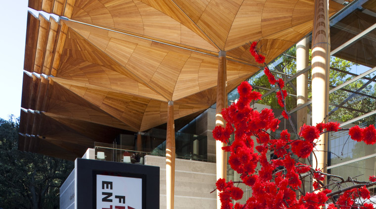 Exterior view of Auckland Art Gallery. architecture, house, structure