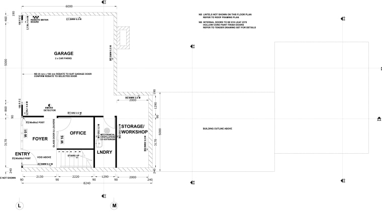 Seen here is a home designed by Chris angle, area, diagram, font, line, product design, text, white