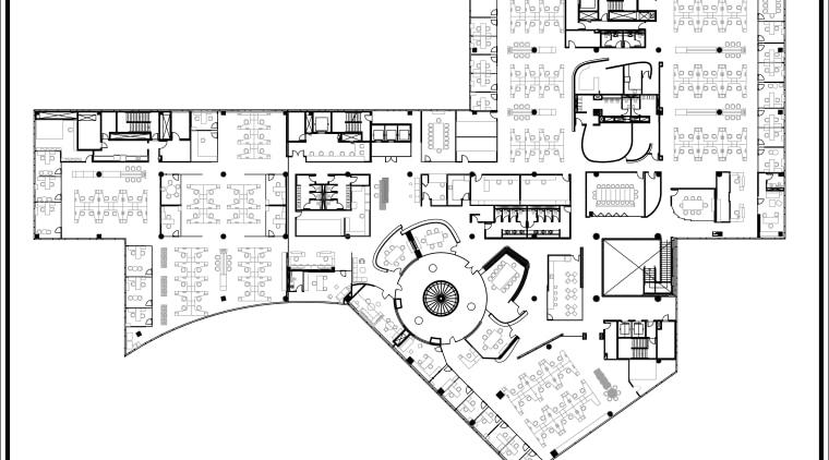 Floor plan. area, black and white, design, diagram, drawing, floor plan, font, line, plan, product design, technical drawing, text, white