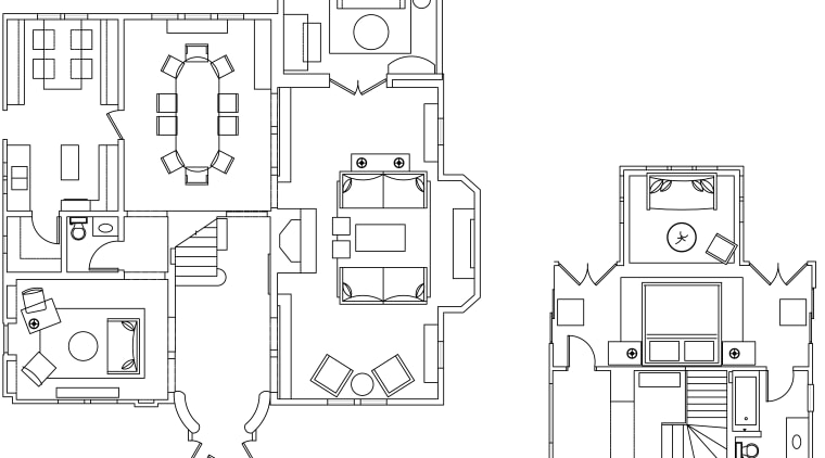 Seen here is a home that's interior was area, artwork, black and white, design, diagram, drawing, floor plan, font, line, line art, product, product design, structure, technical drawing, white