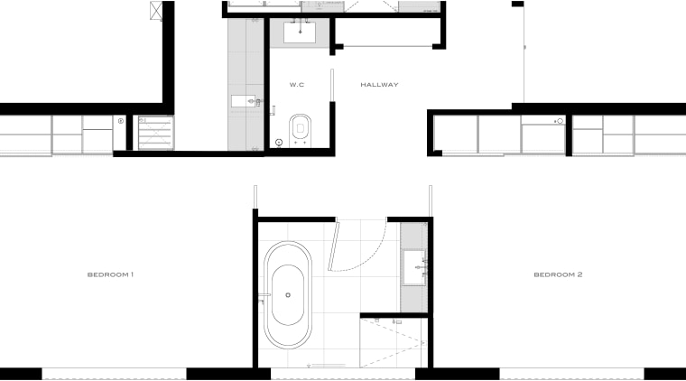Plan for Davinia Sutton bathroom remodel angle, architecture, area, black and white, design, diagram, drawing, elevation, floor plan, font, line, monochrome, pattern, plan, product, product design, schematic, square, structure, text, white, white