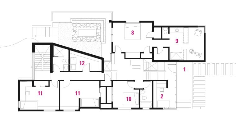 2 Floor Plans. architecture, area, design, diagram, floor plan, line, plan, product design, schematic, square, white