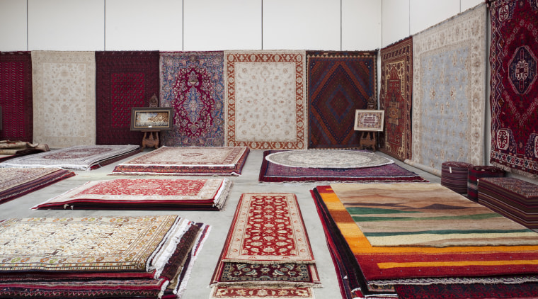 Selection of rugs bed sheet, carpet, floor, flooring, furniture, interior design, textile, gray, red