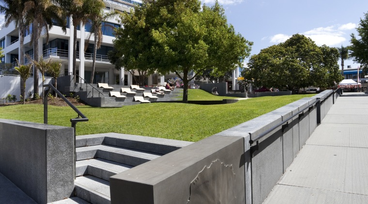 Jawa Structures – Hurstmere Green engineering architecture, residential area, sky, tree, walkway, teal