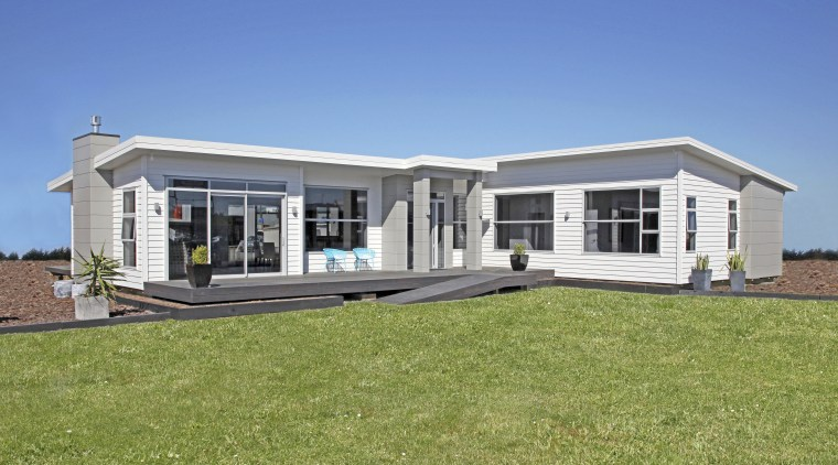Able Aluminium has a range of joinery to cottage, elevation, estate, facade, home, house, property, real estate, teal