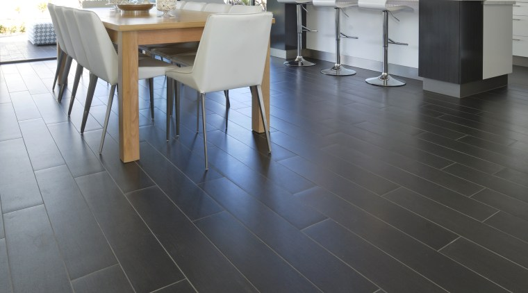 Walk this way – new porcelain tiles from daylighting, floor, flooring, hardwood, interior design, laminate flooring, property, tile, wood, wood flooring, black, gray